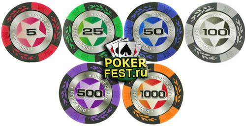 Фишки для покера своими руками фото