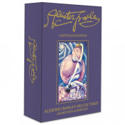 Карты Таро Алистер Кроули Делюкс (Золотое издание) / Aleister Crowley Deluxe Tarot: Gilded Deck & Book Set (Gold edition) - U.S. Games Systems