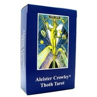 Карты Таро Spanish Crowley Small Thoth Tarot Deck by Frieda Harris and Aleister Crowley