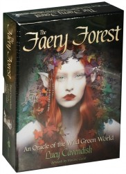 Карты Таро Оракул Лесных фей / An Oracle Faery Forest of the Wild Green World - Blue Angel