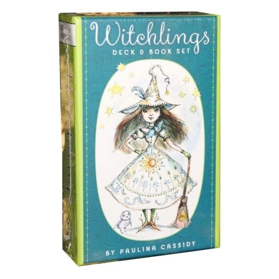 Карты Таро Ведьм колода и книга / Witchlings Deck and Book Set - U.S. Games Systems