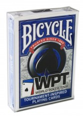 Карты Bicycle WPT синие