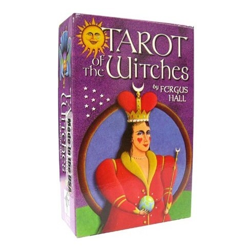 Карты Таро Ведьм / Witchy Tarot (Tarot of Teen Witches) - Lo Scarabeo